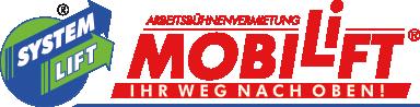 Mobilift - wir vermieten Arbeitsbühnen,Gabelstapler,Teleskopstapler und Aufzüge